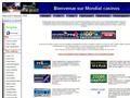 1 Mondial casinos et poker en ligne sur internet.