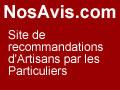 NosAvis.com Avis de clients d'artisans