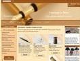Fabrication artisanale d'objets en bois:Vente en ligne.