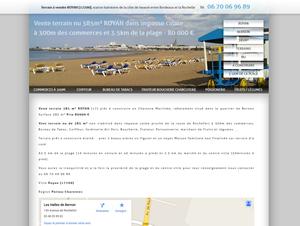 Terrain de 385 m² à vendre ROYAN (17) à 3.5 km de la mer