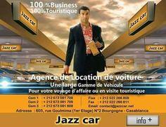 Location de voiture à Casablanca Maroc | Jazz car