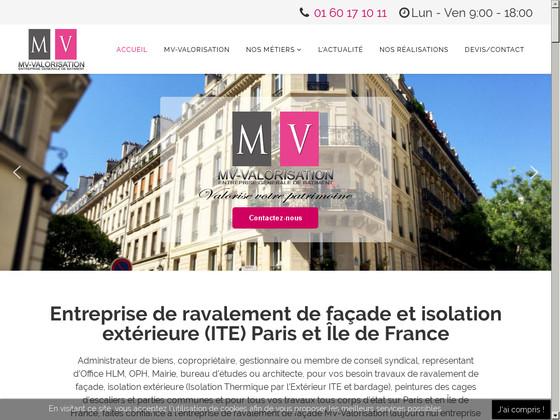 MV-Valorisation - Entreprise de ravalement de façade