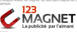 Magnet publicitaire