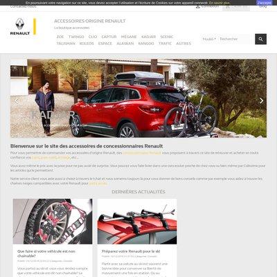 Accessoires d'origine Renault