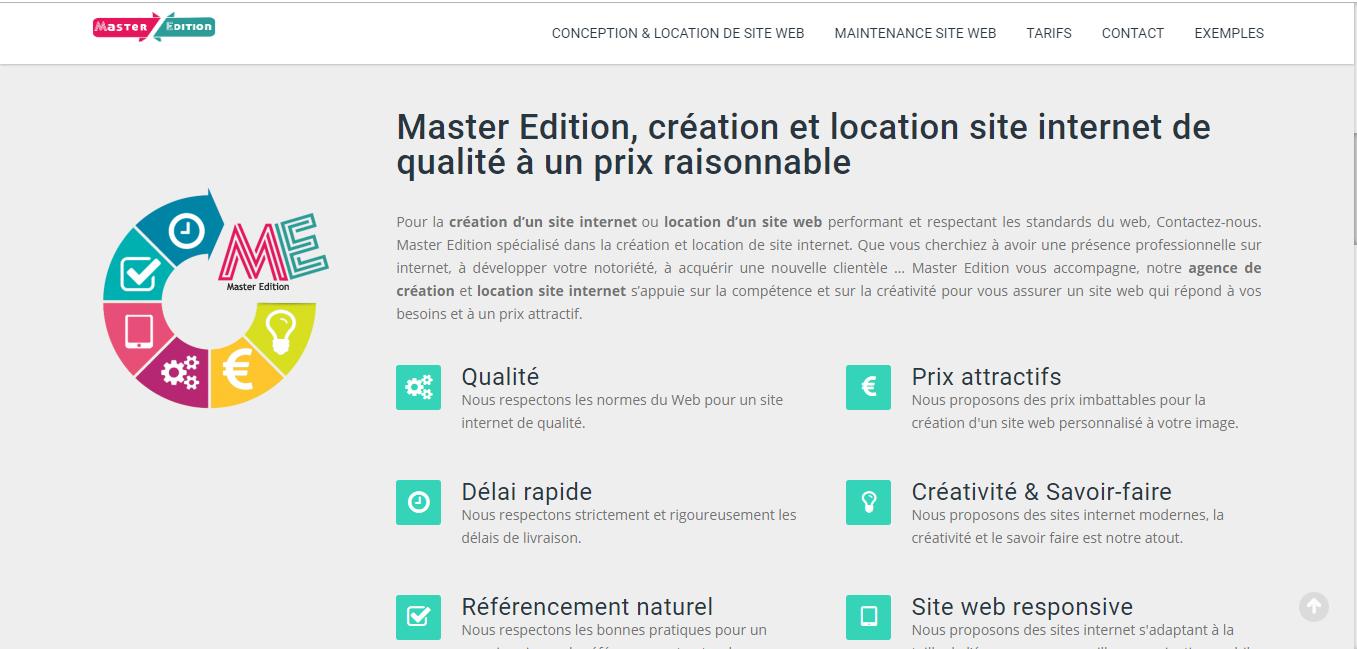Création et location de site internet