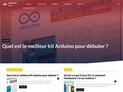 Projets et tutoriels pour Arduino