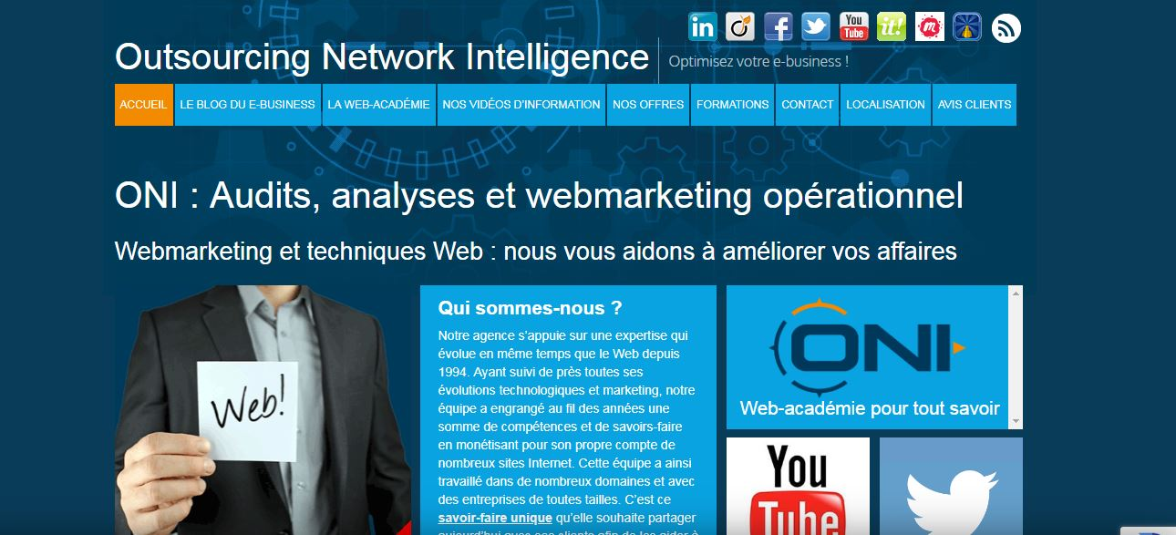 ONI : de la création à la monétisation de votre site web