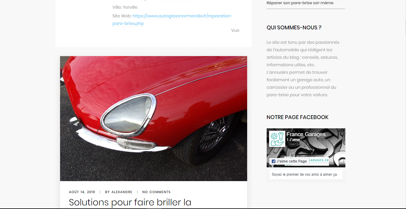 Blog de conseils pour votre véhicule