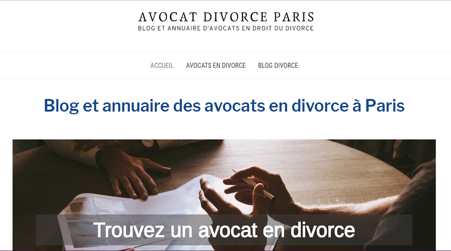 Blog d'informations sur le divorce