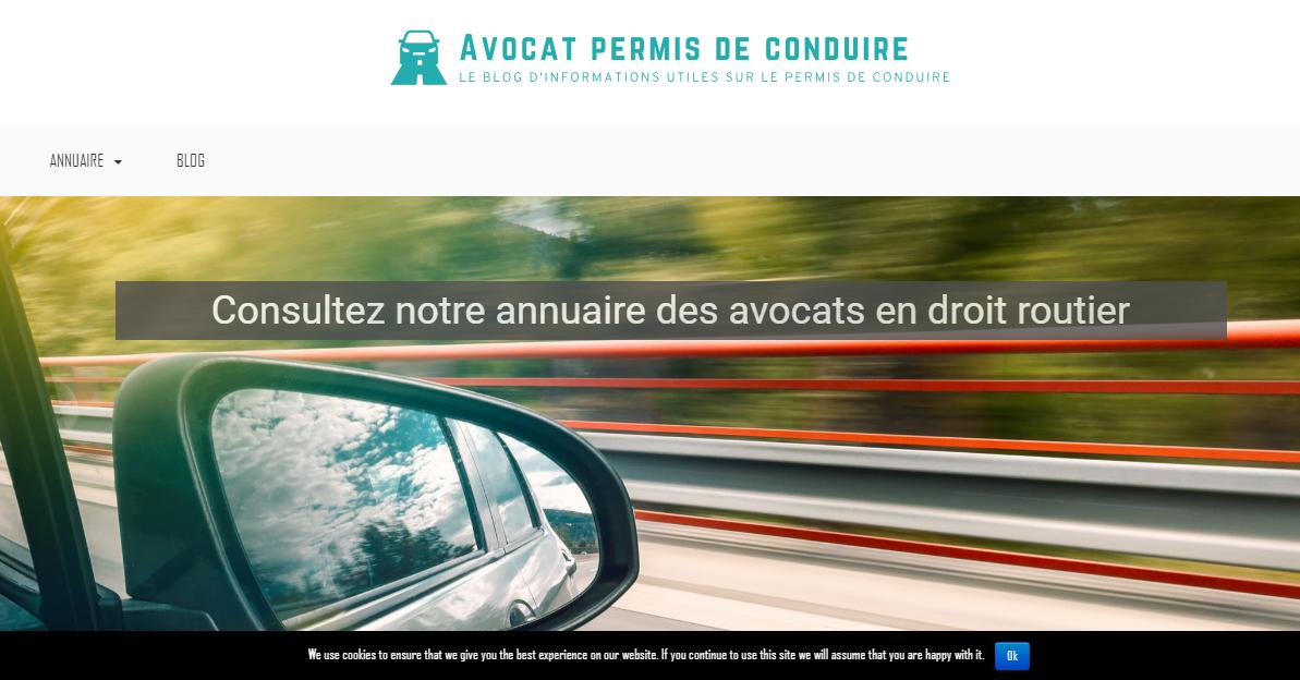 Blog sur le droit routier