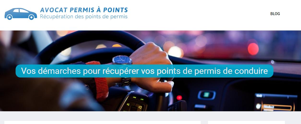 Blog sur le permis de conduire et les points