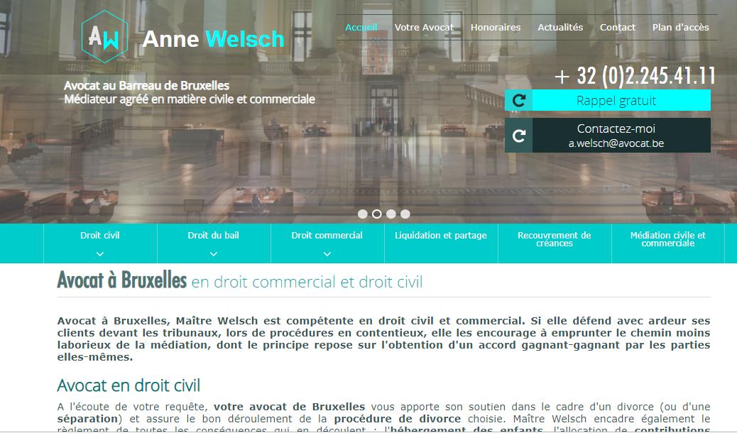 Spécialiste en droit civil et commercial à Bruxelles