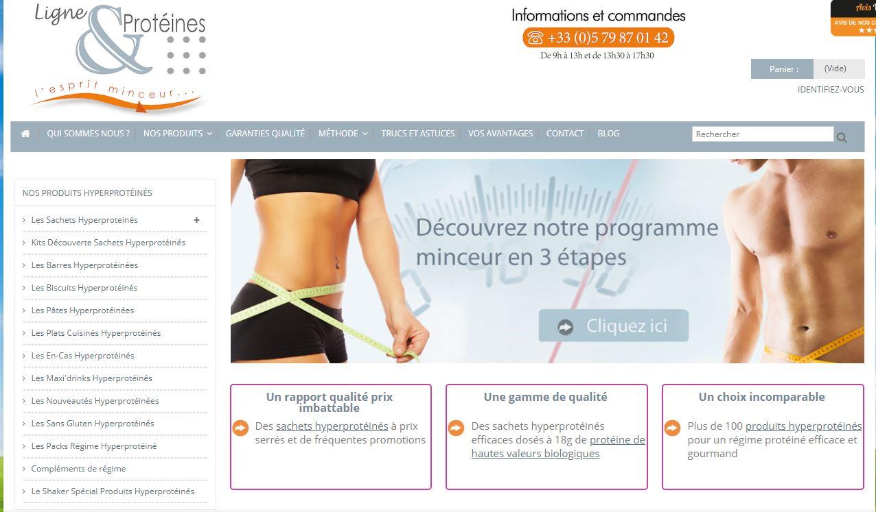Le site ligne-et-proteines.com