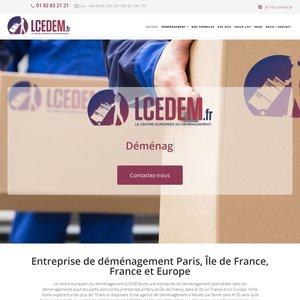Entreprise de déménagement LCEDEM