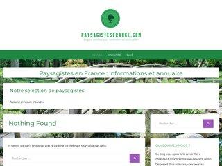 Annuaire de paysagistes en France