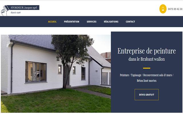 Entreprise de peinture en bâtiment dans le Brabant Wallon