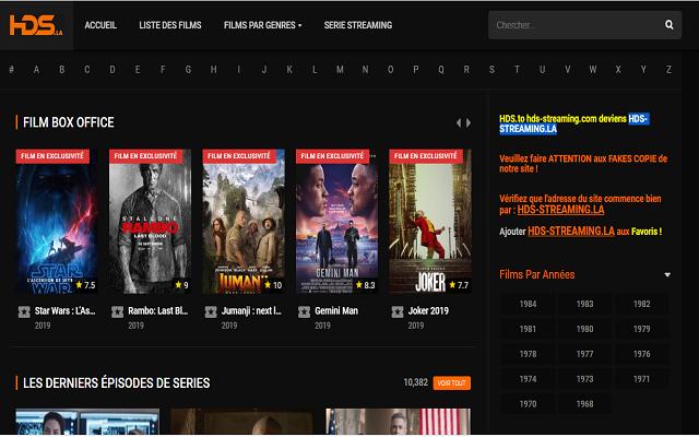 Profitez du meilleur des films et séries en streaming
