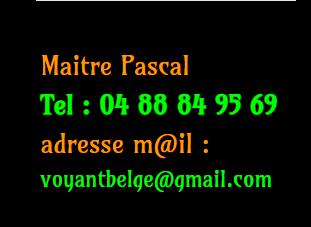 Maître Pascal : marabout à Bruxelles