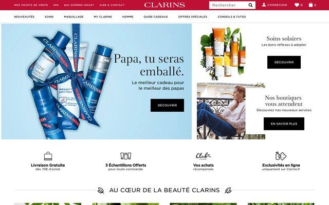 Boutique en ligne de produits de soins haut de gamme