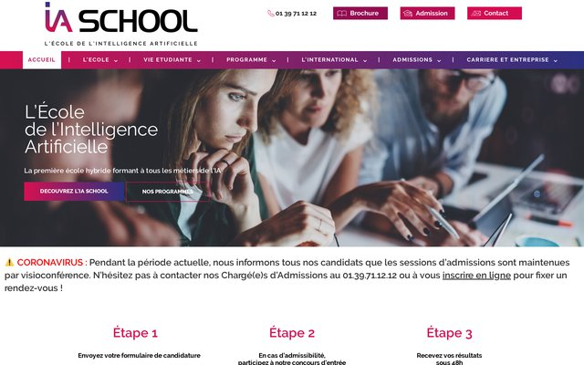 intelligence-artificielle-school.com