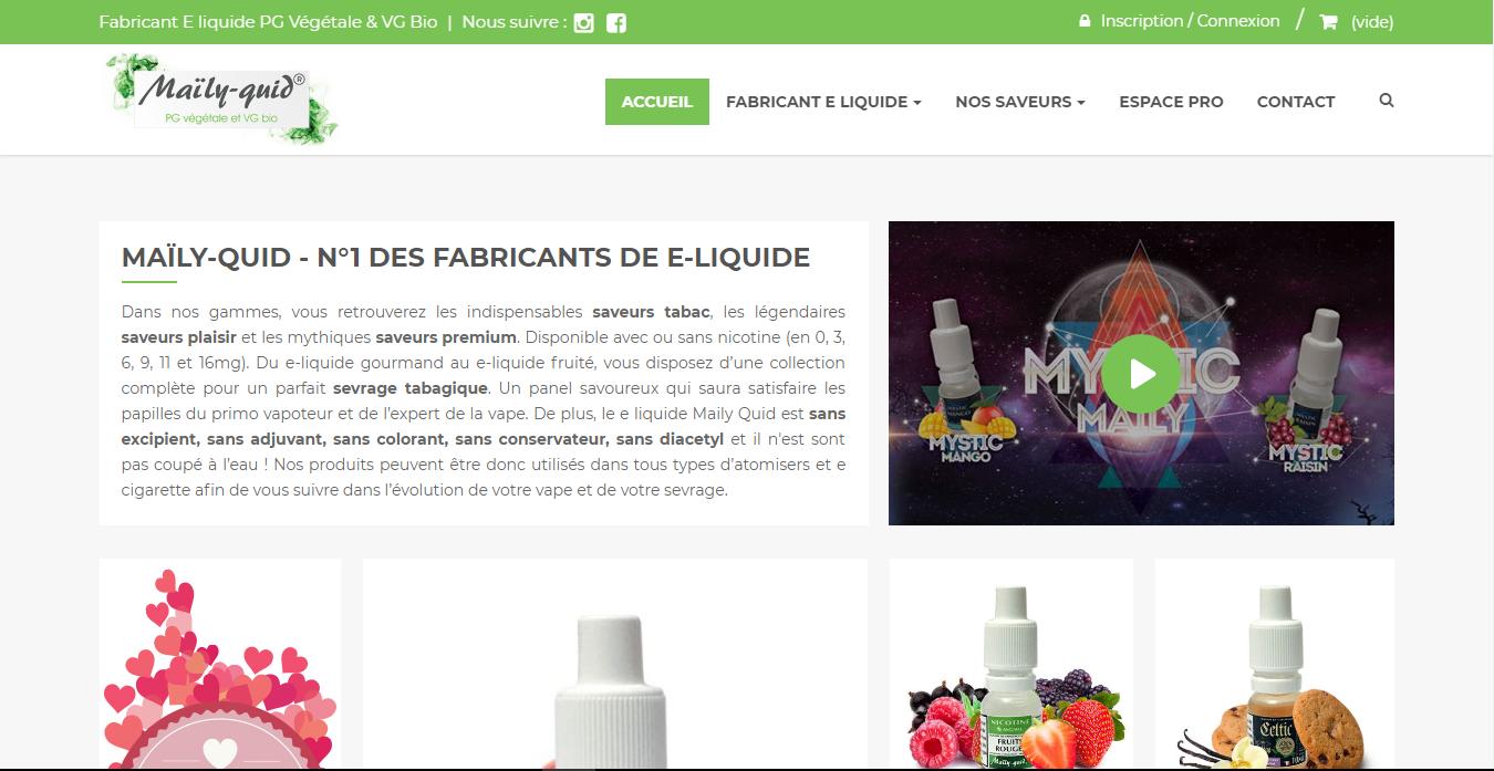 E-liquide bio pour sevrage tabagique