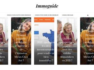 Le meilleur de l'immobilier à retrouver sur Immoguide.fr