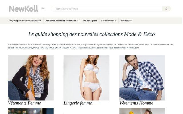 Guide shopping des nouvelles collections de mode et décoration